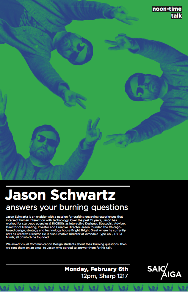 SAIC Noontime Talks Jason Schwartz